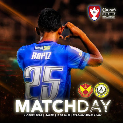 Live Streaming Selangor vs PKNP FC Piala Malaysia 4.8.2018