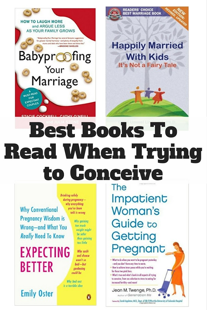 Best Books To Read When Trying to Conceive