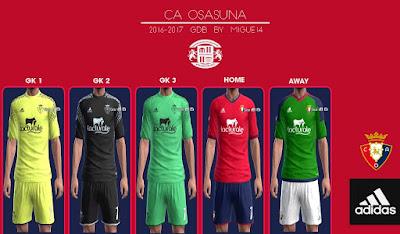 CA Osasuna 2016-2017 GDB
