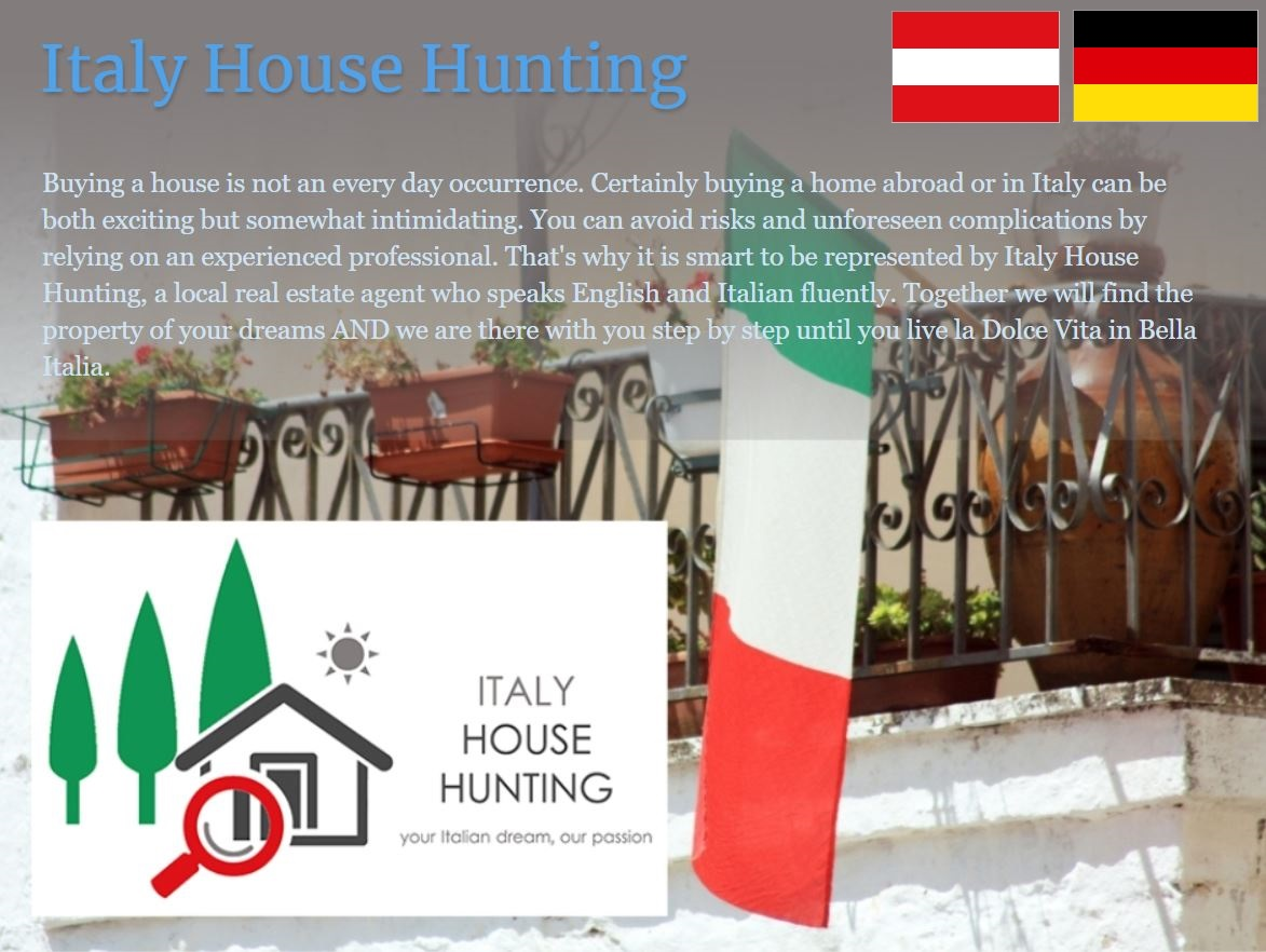 Italy House Hunting auf Deutsch