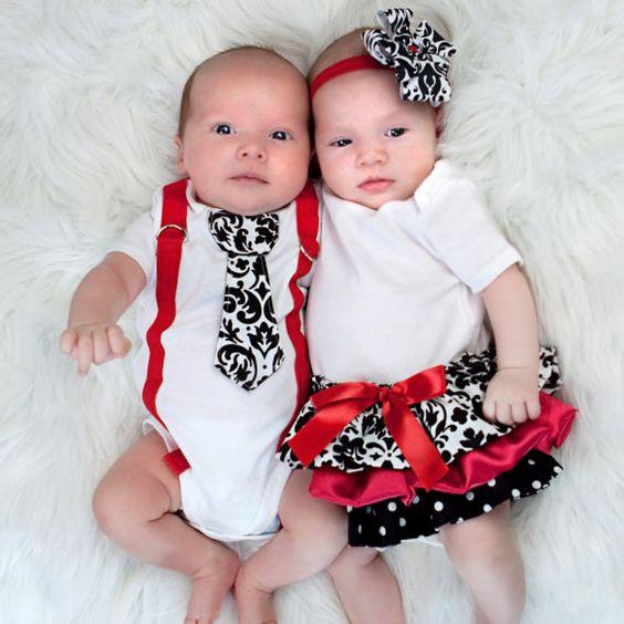 100 Inspirações para fotografar casal de gêmeos