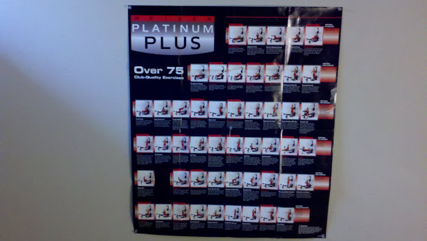 Weider crossbow platinum exercise chart also poster vtwctr rh