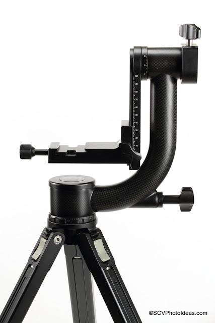 Sunwayfoto GH-01 Carbon fiber Gimbal Head overview