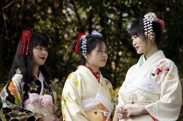 Kimono japonais obi ceinture