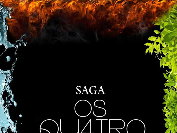 Box completo da saga Os Qu4tro Elementos na Amazon