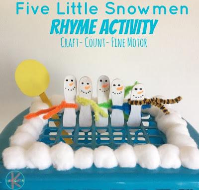 prescchool kindergarten count to 5 activity