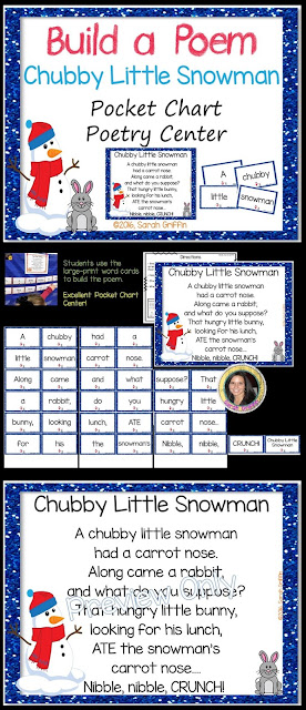 https://www.teacherspayteachers.com/Product/Build-a-Poem-Chubby-Little-Snowman-Pocket-Chart-Poetry-Center-2891223
