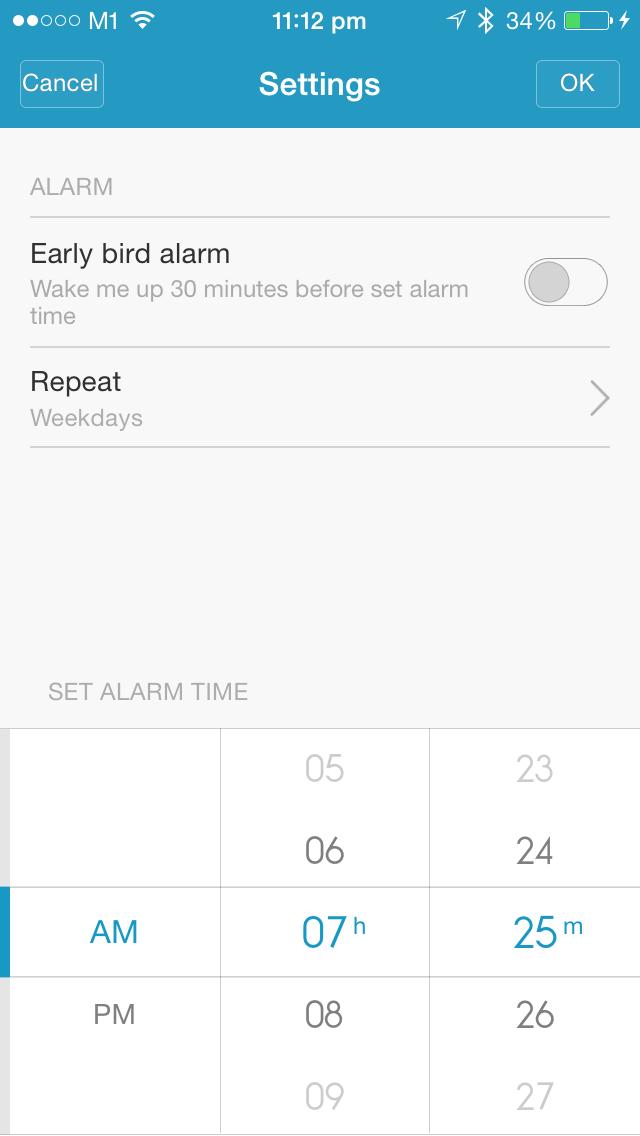 Alarm Setting