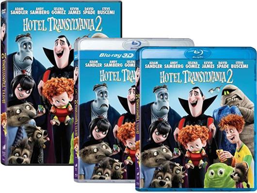 A la venta 'Hotel Transilvania 2' en DVD, Blu-ray y Blu-ray 3D. Cuando lo pasas de miedo siempre vuelves