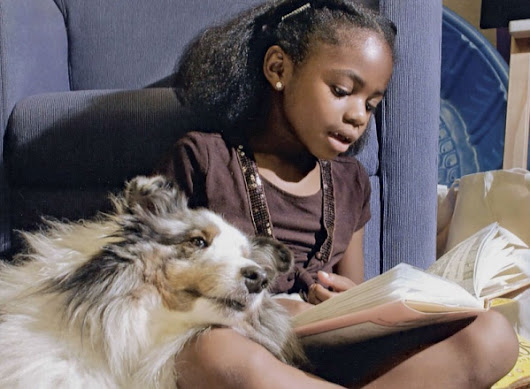 Therapy Dogs Help Children's Reading Skills