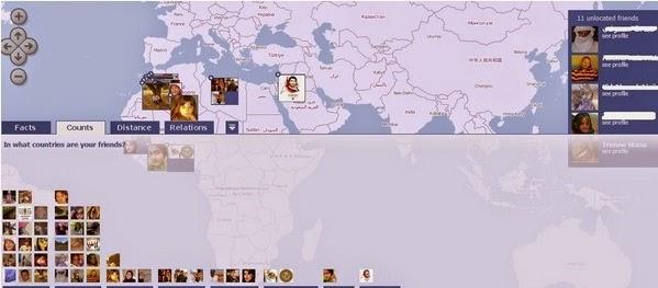 تعرف على مكان أصدقاءك على الفيسبوك وتموقعهم على الخريطة