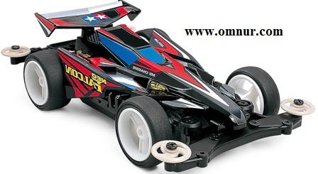 Rincian Tamiya Neo Falcon Dengan Chassis MS Gear 4:1