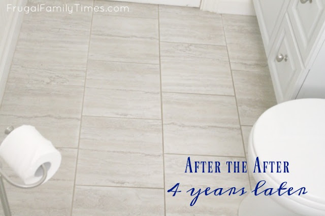 peel and stick floors that you grout are they durable do they last and look good years later