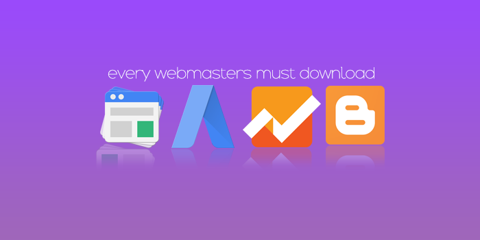 AdSense, AdWords, Analytics and Blogger Android Apps. Every webmasters must download