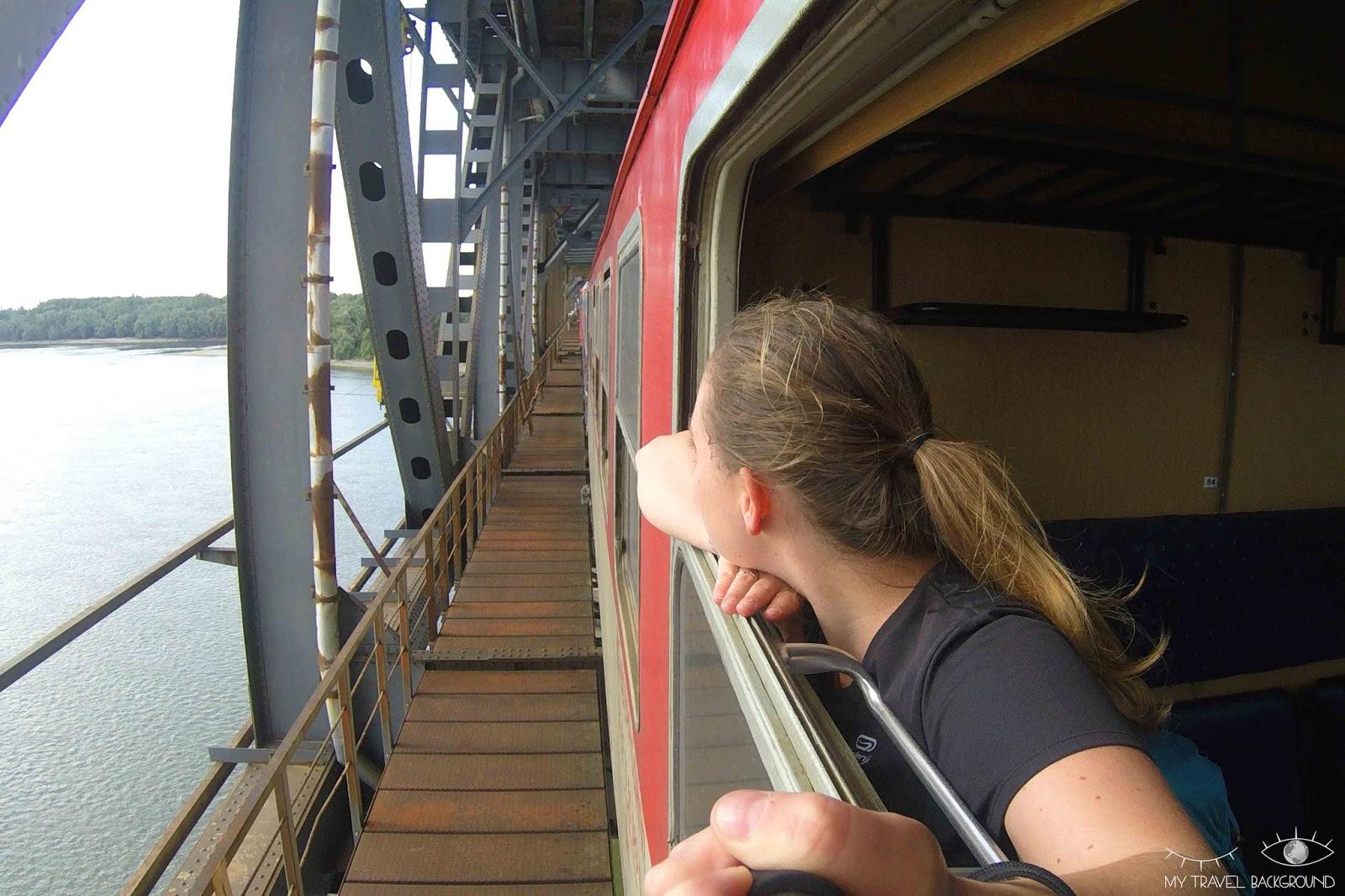 My Travel Background : traverser l'Europe en train : mon expérience du pass interrail (+ les réponses à vous questions) - Le Danube, frontière entre la Bulgarie et la Roumanie