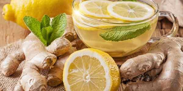 3 receitas simples de chá de limão para perda de peso