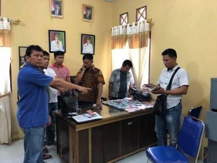 OTT yang digelar tim Poldasu di kantor Kadistan Palas.