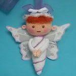 patron gratis angel amigurumi | free pattern amigurumi angel
