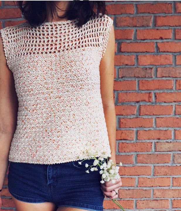 12 Free Summer Tops And Tunics Crochet Patterns - Crafting