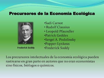 precursores de la economía ecologica