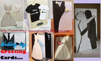 Creative Wedding day greeting cards | Innovative cards for Wedding day congratulations