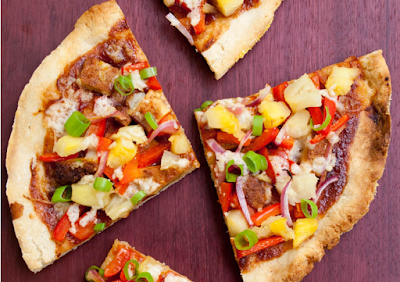 BBQ PIZZA #hawaiianfood #pizza