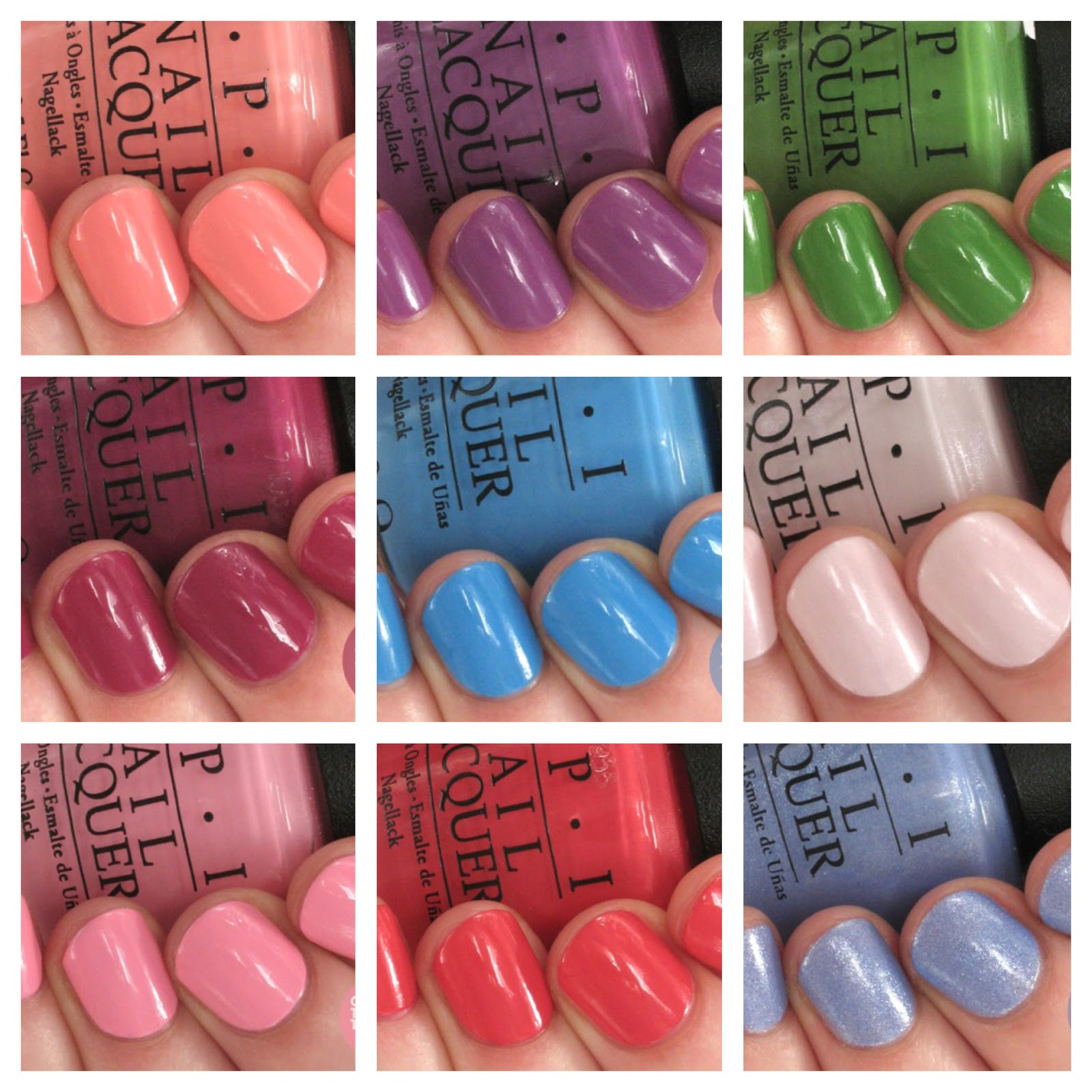 OPI New Orleans Collection Review + Swatches | One Nail To Rule Them ...
