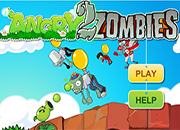 juego Plants Vs Zombies Angry Zombies 2