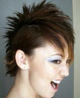 hair & tattoo lifestyle faux hawk