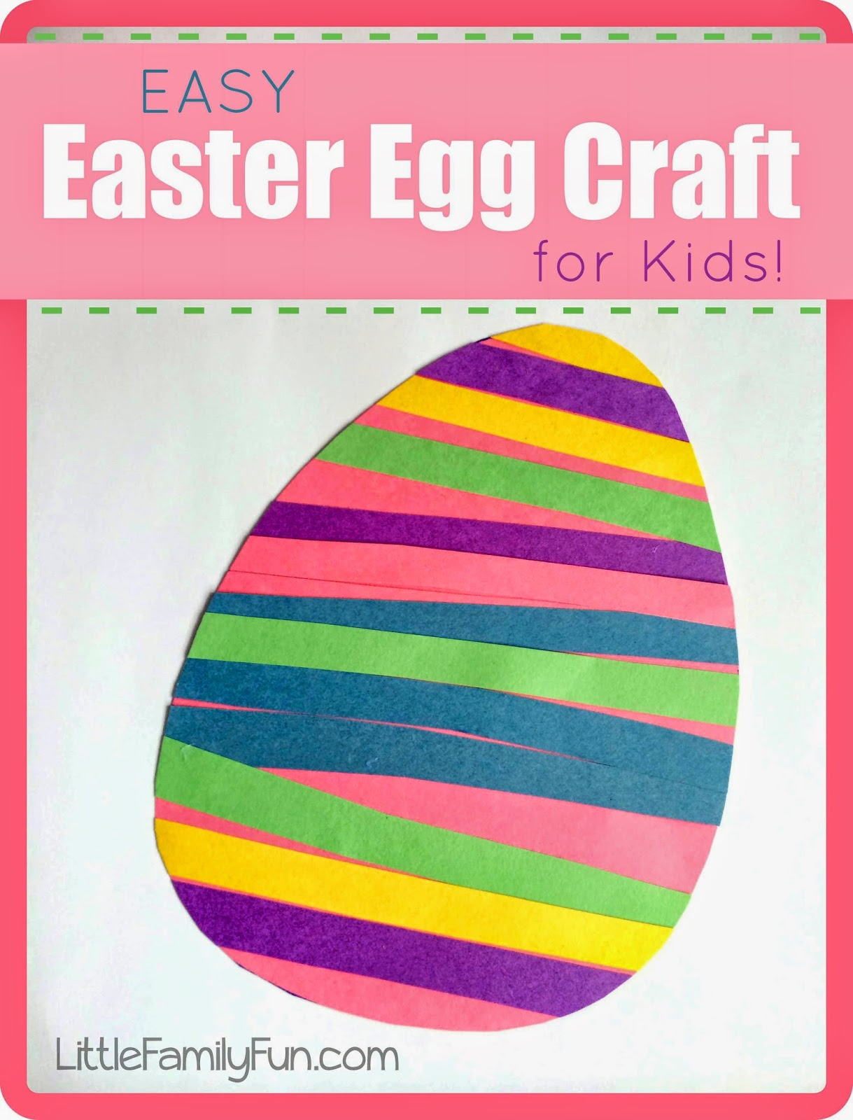 Easy Easter Egg Craft For Kids