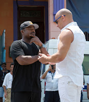 Vin Diesel and F. Gary Gray on the set of The Fate of the Furious (40)