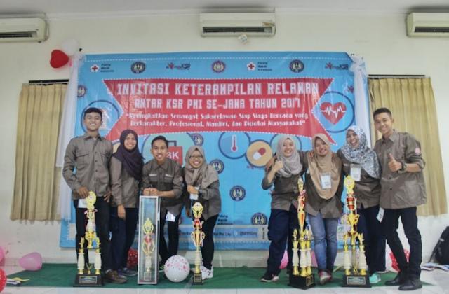 KSR PMI Unit Unnes berhasil meraih juara