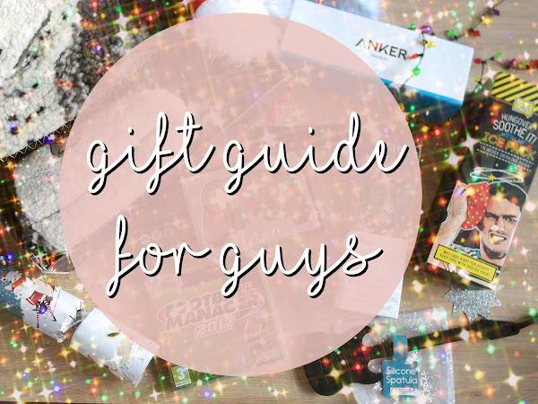 Christmas Gift Guide for Guys