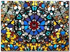 Damien Hirst Butterfly Stained GLASS WINDOW