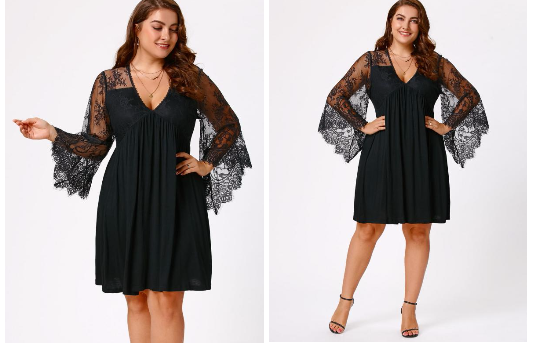 Dance Your way through fall -- Plus size party choices