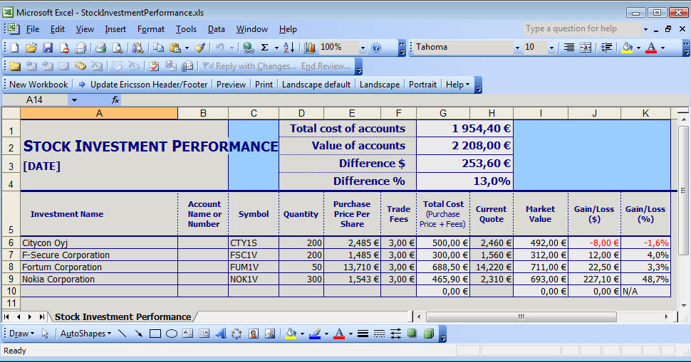 tips to manage inventory stock ledger format in excel