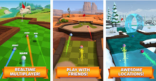 Golf Battle Apk for Android Unlock and Upgrade Your Clubs