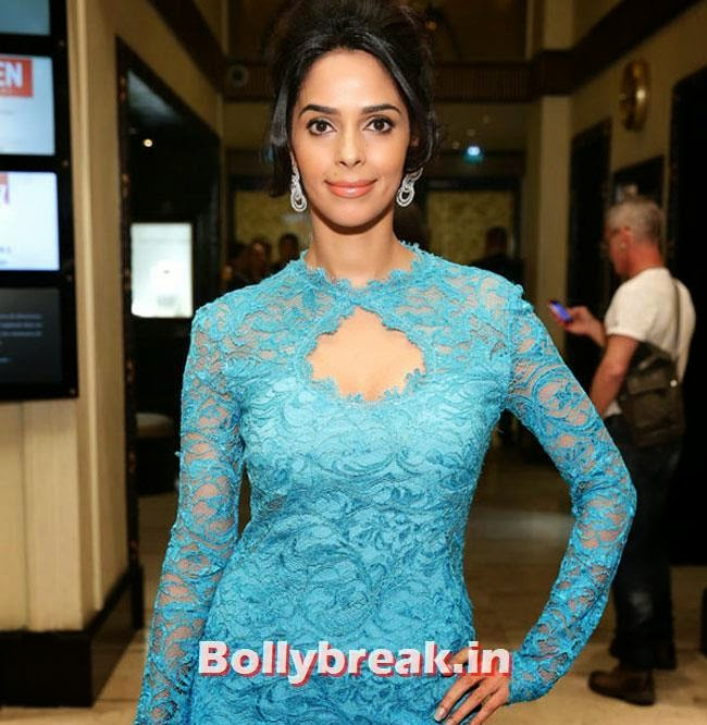 Mallika Sherawat, Bollywood Actresses Gowns at Cannes Film Festival 2014