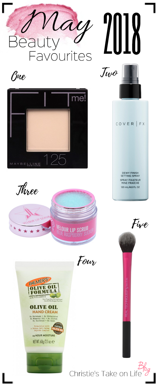 My favorite makeup, skincare and beauty products in May