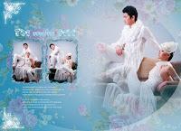 Wedding Photos Album Design in Photoshop Psd File Free Download