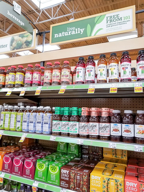 Honest Tea at Kroger