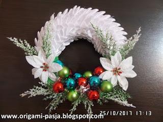 dekoracja, ozdoba, boże narodzenie, na święta, zielony, biały, mikołaj, bombka, bombki, gwiazda betlejemska, czerwony, zielony, niebieski