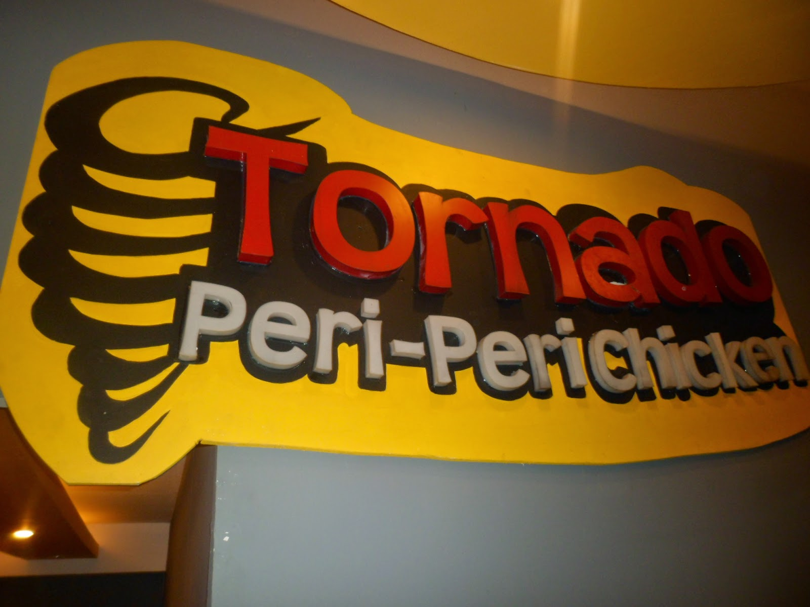 Turn Your World Around With Tornado Peri-peri Chicken
