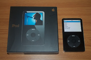 Options of an iPod video