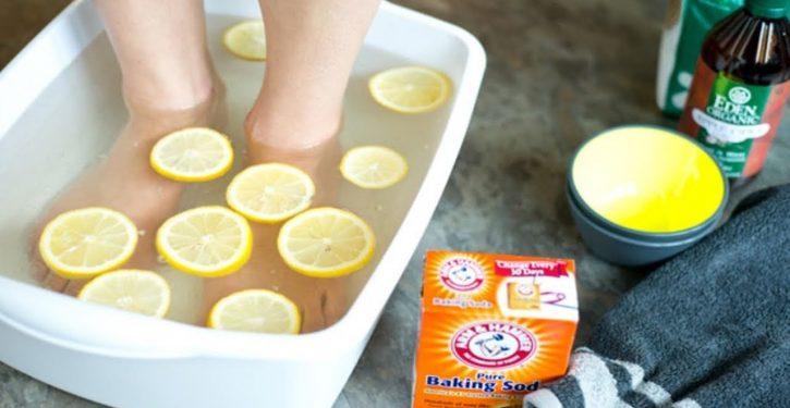 Simple Footbath Remove Toxins Body