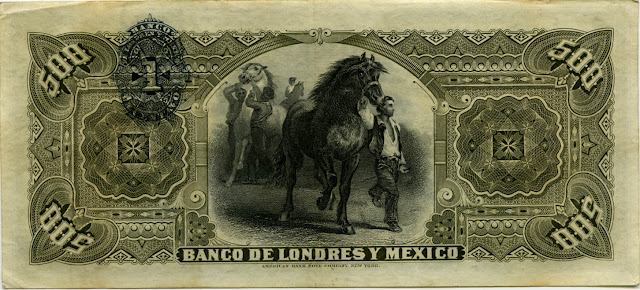 Mexican Money Currency Bank Notes Exchange Banks