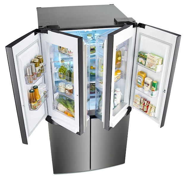 LG Linear Inverter Dual Door-in-Door refrigerator