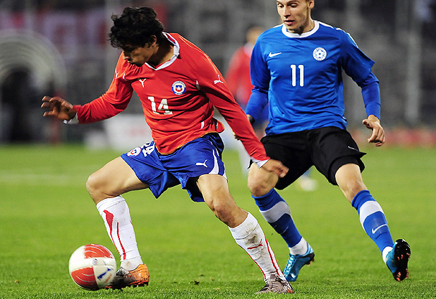 Chile y Estonia en partido amistoso, 19 de junio de 2011