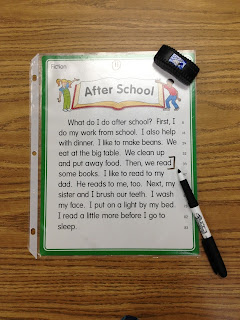Guest blog post from Jaime Locke at The First Grade Bloom who shares some New Solutions Using Page Protectors.