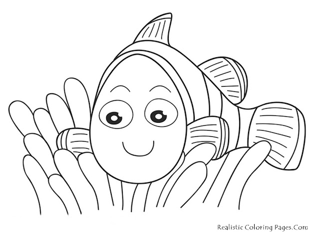 Nemo Coloring Pages  Finding Nemo Coloring Pages Disney Finding Nemo  Coloring Pages Free